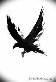 фото тату черный ворон 15042019 051 Ideas Black Raven Tattoo