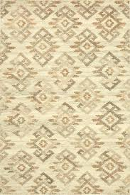 beige rugs handwoven area rug in ivory and upper earth wool 8x10 solid rare signed oriental area rug