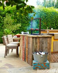 Bobby Flay Outdoor Kitchen House Beautiful High Fashion Home Blog