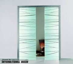 glass sliding doors interior design