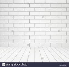 white wood floor background. White Wood Wall (block Style) And Floor Background