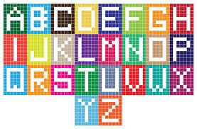 Alphabet Cubes Wall Stock Illustrations 34 Alphabet Cubes