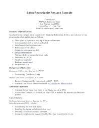 Medical Receptionist Resume Sample Awesome Medical Receptionist Resume Objective Samples Sample Secretary Unit