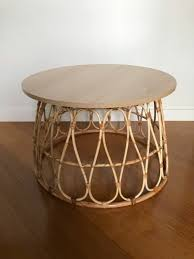 The table top in metal mesh provides an airy design and allows water to pass through. Basket Coffee Table Hack Hometalk