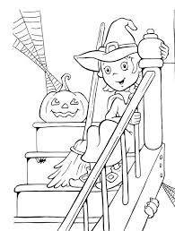 Small Picture Witch Free Halloween Coloring Pages For Adults Hallowen Coloring