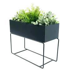 metal plant stand outdoor
