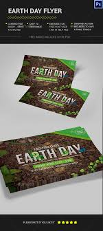 Earth Day Flyer Print Templates Flyers To Help Discover