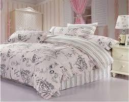 eiffel tower comforter set
