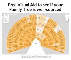 A Free Visual Aid To See If Your Familysearch Family Tree Is