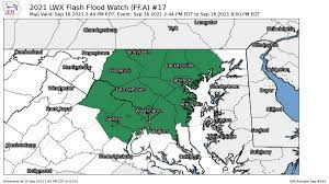 Flash flood warning issued as slow ...