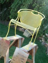 painting wrought iron furniture. Painting Wrought Iron Furniture T
