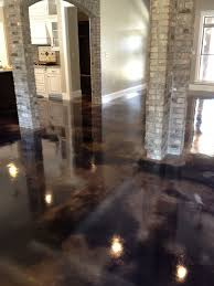 black stained indoor concrete floor 2016 snap win concrete photo july august