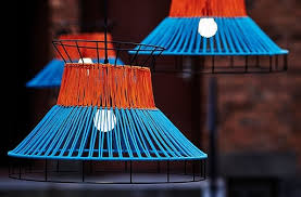 lighting pics. SOLVINDEN LED Pendant Lamp Orange/blue Lighting Pics