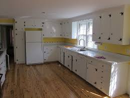 Painting Knotty Pine Cabinets Knotty Pine Kitchen Cabinets Painted White Tehranway Decoration