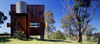 Small Picture The Box House an off grid cabin in Australia Nicholas Murcutt