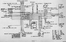 honda cb electrical wiring diagram circuit wiring diagrams honda cb100 electrical wiring