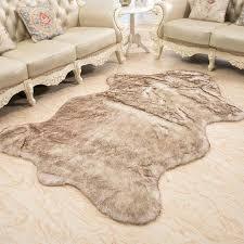 sheepskin area rug wool rug home sheepskin faux fur area rugs and carpets for living room sheepskin area rug