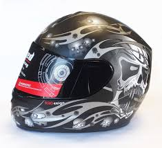 viper rs 44 skull motorcycle helmet amazon co uk car motorbike