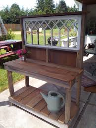 Potting Bench Plans Potting Bench With Sink Rustic Potting Benches With Sinks White