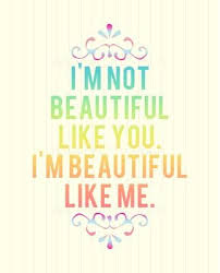 Quotes On Beautiful Me Best Of I'M Not Beautiful Like YouI'M Beautiful Like Me Beauty Quote
