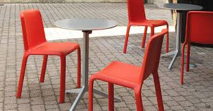 outdoor cafe table and chairs. Yipsilon Silver Outdoor Modern Cafe Tables Table And Chairs