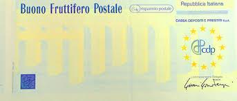 buono fruttifero postale 3x2 cartaceo