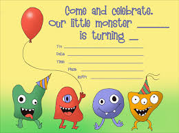 birthday invitation card kids birthday invitations new kids birthday invitations templates