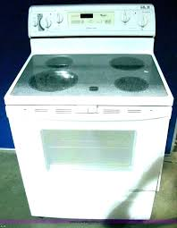 glass top electric cooktop whirlpool glass top stove troubleshooting glass top electric stove burner not working