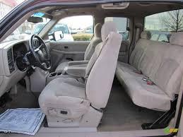 Tan Interior 2001 Chevrolet Silverado 2500HD LS Extended Cab Photo ...