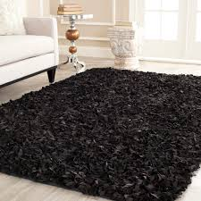 area rugs outstanding shag area rugs faux fur rugs black and