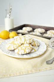 Lemon Cake Mix Crinkle Cookies The Baking Fairy