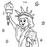Small Picture Statue of Liberty Coloring Pages Surfnetkids