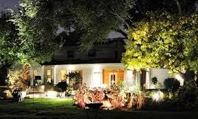image of how to install outdoor landscape lighting ideas
