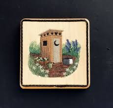 Image Decorating Ideas Outhouse Bathroom Wall Decor Balsa Wood Embroidery Art Woodland Cottage Lodge Camper Farmhouse Bath Decor Country Living Gift Idea Pinterest 41 Best Kitchen Bath Wall Decor Images Embroidery Art Wall Art