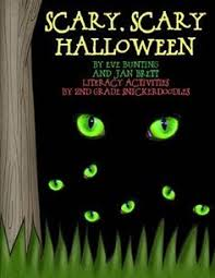 scary halloween story gross food passing games halloween scary scary halloween by eve bunting jan brett literacy activities