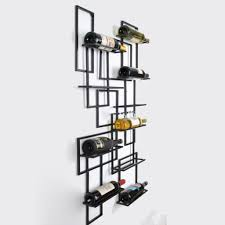 Wine Cabinet Black Wood Wine Rack Lattice With Cabinet For Kitchen Decoration Ideas