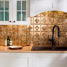 fleur de lis pvc decorative tile backsplash in