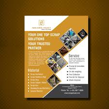 one page flyer template flyer layout design ideas cathodic creating vouchers office supplies