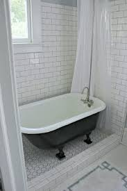 small white bathroom plan with incredible cute clawfoot tub shower conversion kit using plastic curtain