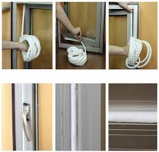 adhesive wool pile weather strip felt draught excluder sliding sash window door seals white seal brush