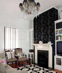 Wallpaper In Living Room Living Room Living Room Focal Point Ideas Using Feature Wall