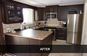 Kitchen Cabinets Refacing Diy Extraordinary Reface Kitchen Cabinets Calgary Rollout Drawers