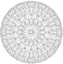 Printable Mandalas To Color Free Mandala Colouring Pages Arts
