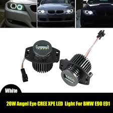 2007 Bmw 328i Halo Light Bulb Details About Cree Led Angel Eye Halo Ring Marker Light Bulbs For Bmw E90 E91 White 328i 335i