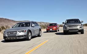 Coupe Series bmw x5 vs range rover sport : 2013 Audi Allroad vs. 2013 BMW X1 vs. 2012 Range Rover Evoque ...