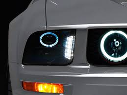 2005 2009 mustang projector headlight wire installation american muscle