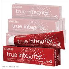 Scruples True Integrity Color Chart Scruples True Integrity Hair Color Chart Scruples True