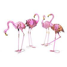 flamingo garden statue. Modren Flamingo Assorted Flamingo Garden Statues Set Of 4 To Statue R