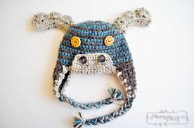 Infant Crochet Hat Pattern New Crochet Moose Beanie Free Crochet Hat Pattern For All Sizes My