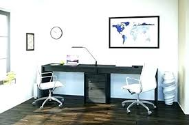 Two Person Home Office Furniture Design Inspiring 2 Desk Magnificent O U40